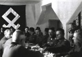 Artur Phleps Prinz Eugen flag banner dinner lunch eat ate together