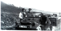 Falck Visiting Mizil 1943