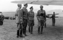 Phleps with Kurt Waldheim in Podgorica (Montenegro) airfield in 1943